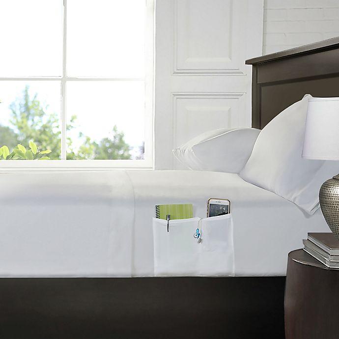 Alternate image 1 for Smart King Sheet Set with Pocket in White