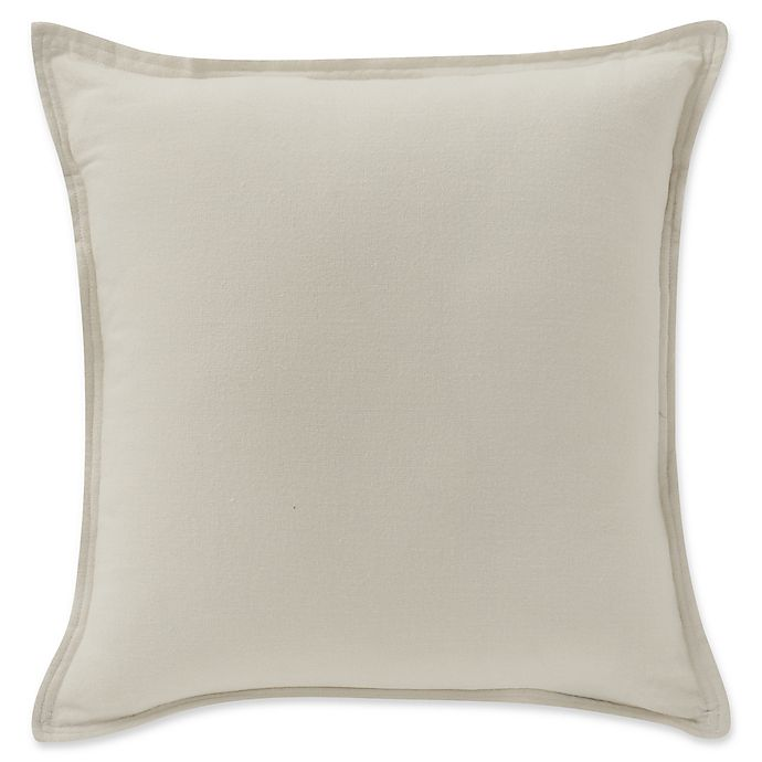Alternate image 1 for Highline Bedding Co. Sullivan 20-Inch Square Throw Pillow in Ecru