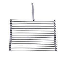 LuxorWare Folding Drying Rack in Grey