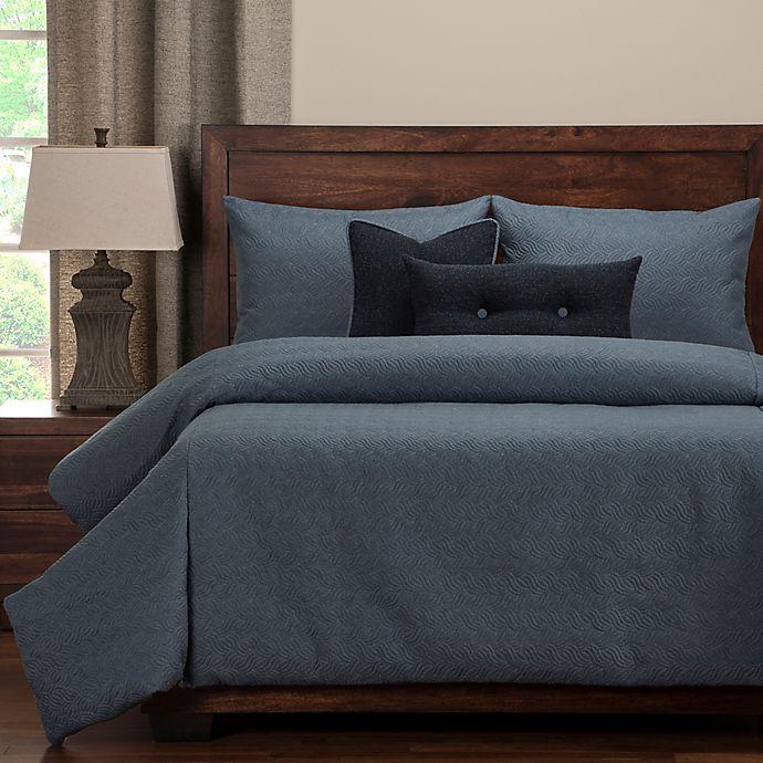 Alternate image 1 for PoloGear Saddleback Queen Duvet Cover Set in Blue
