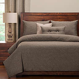 PoloGear Belmont Queen Duvet Cover Set in Greystone
