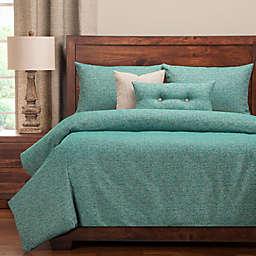 PoloGear Belmont King Duvet Cover Set in Turquoise