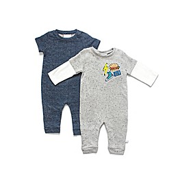 Rosie Pope 2-Pack Confetti French Terry Romper