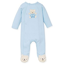 Little Me™ Preemie Bear Footie Pajama in Blue