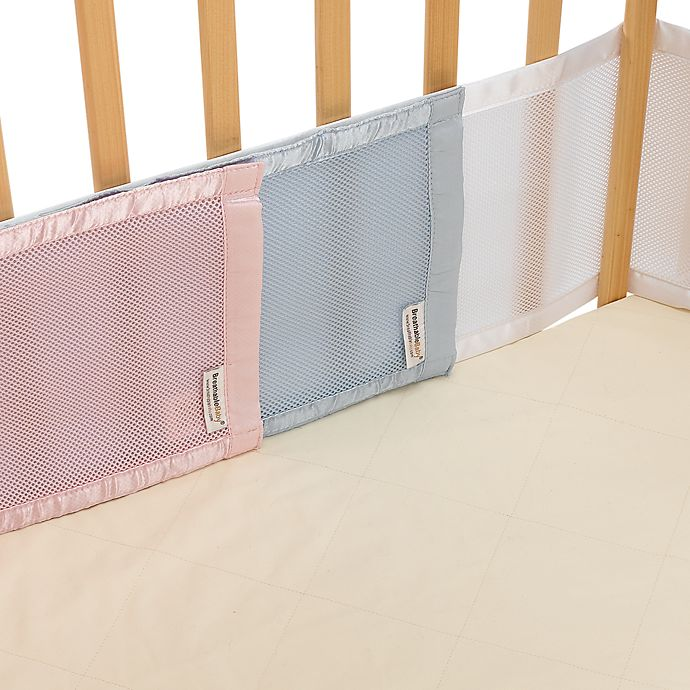 Alternate image 1 for BreathableBaby® Mesh Crib Liner for Portable Cribs and Cradles