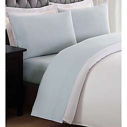 My World Solid Twin XL Sheet Set in Silver Grey