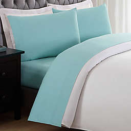 My World Solid Twin XL Sheet Set in Turquoise