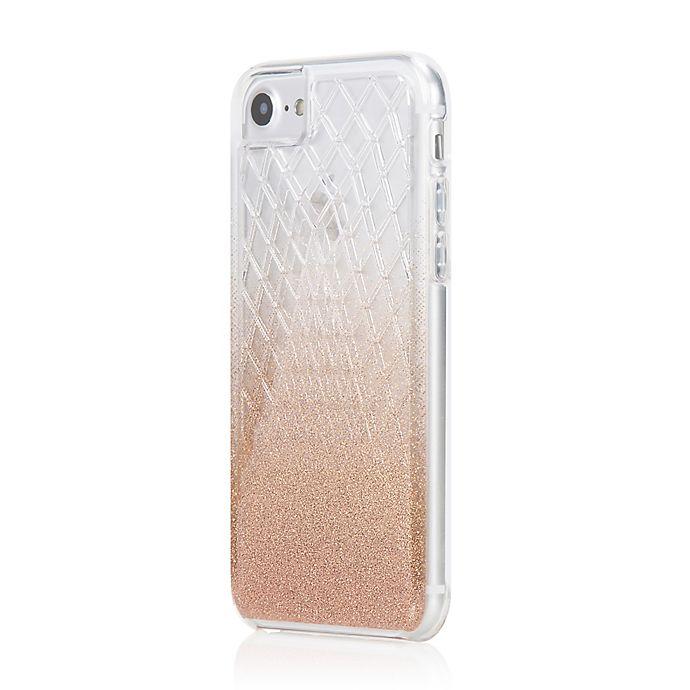 Alternate image 1 for Incipio® Design LUX iPhone 7 Case in Lavish Champagne