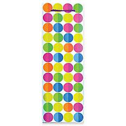 Design Design Multicolor Dots Bottle Tote Bag
