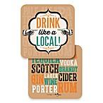 Design Design Drink Like a Local Coasters (Set of 10)