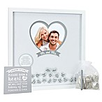Pearhead® 20-Inch x 20-Inch Wedding Wishes Shadow Box in White