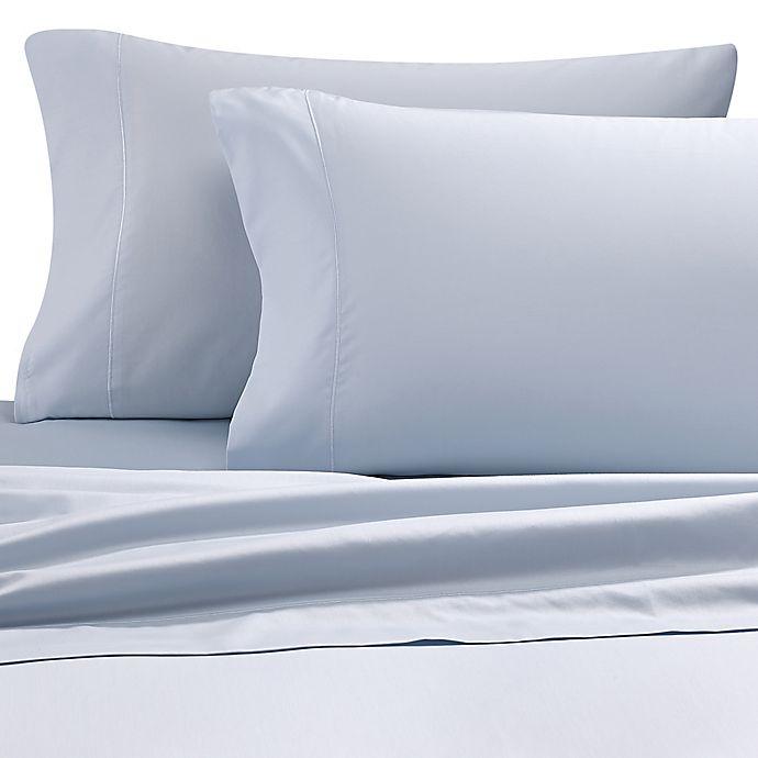 Alternate image 1 for Wamsutta® 500-Thread-Count PimaCott® Dual Queen Sheet Set in Light Blue
