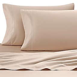 Wamsutta® Pima  500-Thread-Count Split Queen Sheet Set in Taupe