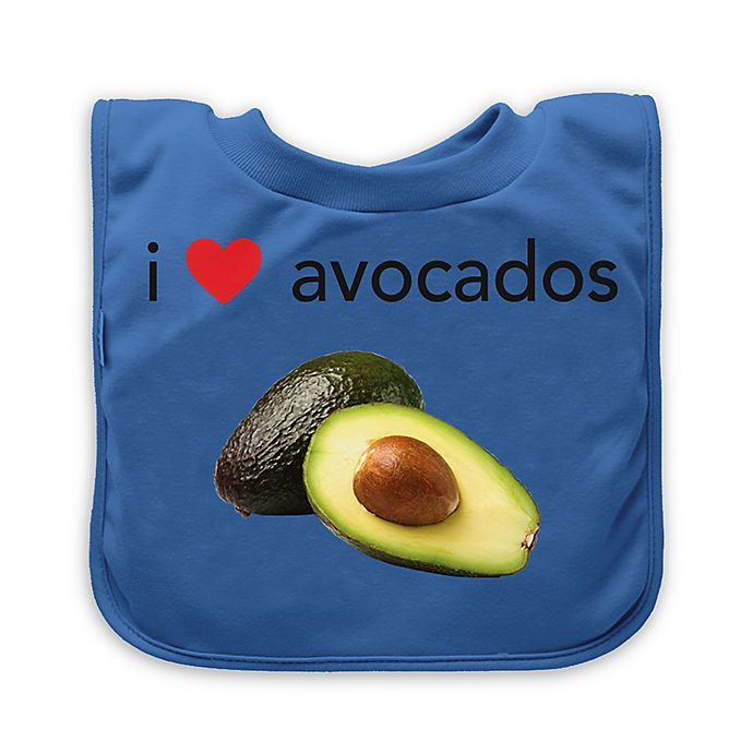 Alternate image 1 for green sprouts® Avocado Favorite Food Absorbent Bib