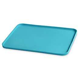 green sprouts® by i play.® Finger Food Silicone Platemat in Aqua