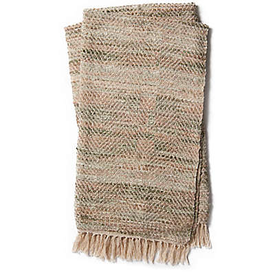 Magnolia Home by Joanna Gaines Throw Blanket in Sage/Grey