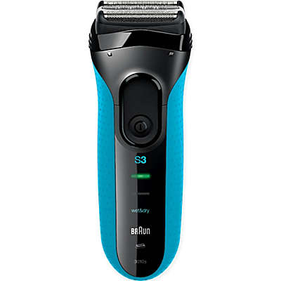 Braun Series 3 3010 Men's Electric Shaver in Blue