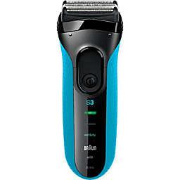 Braun Series 3 3010 Men's Electric Shaver in Blue