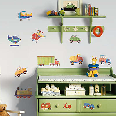 RoomMates Peel and Stick Wall Decals in Transportation