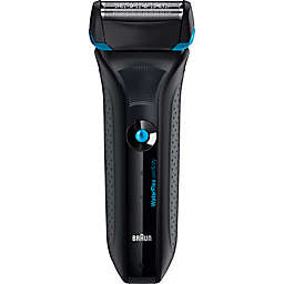 Braun WaterFlex Wet & Dry Men's Electric Shaver in Blue
