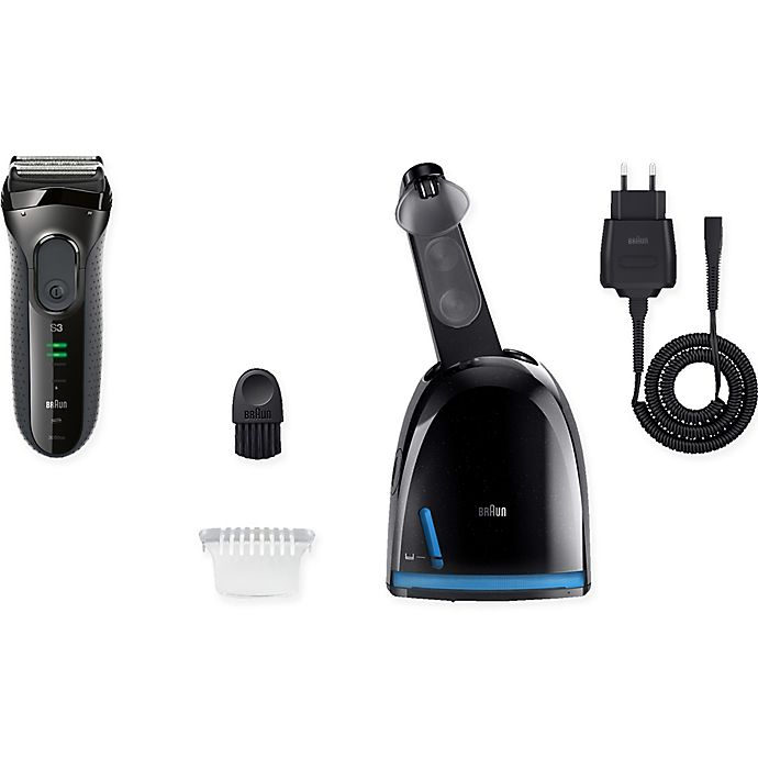 Alternate image 1 for Braun Series 3 3050cc Men's Electric Shaver with Clean & Charge System