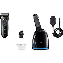 Braun Series 3 3050cc Men's Electric Shaver with Clean & Charge System