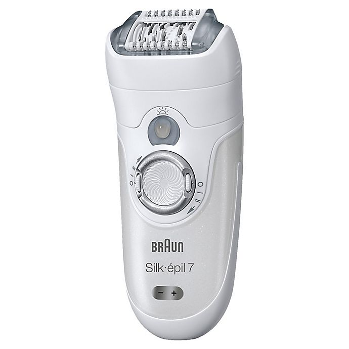 Alternate image 1 for Braun Silk-épil 7 7-561 Wet & Dry Epilator in White