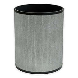 Bacova Peyton Wastebasket in Grey