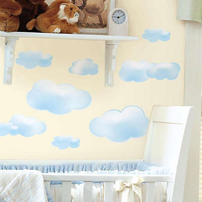 RoomMates Peel and Stick Wall Decals in Clouds