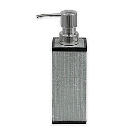 Bacova Peyton Lotion Dispenser in Grey