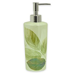 Bacova Waterfall Leaves Lotion Dispenser