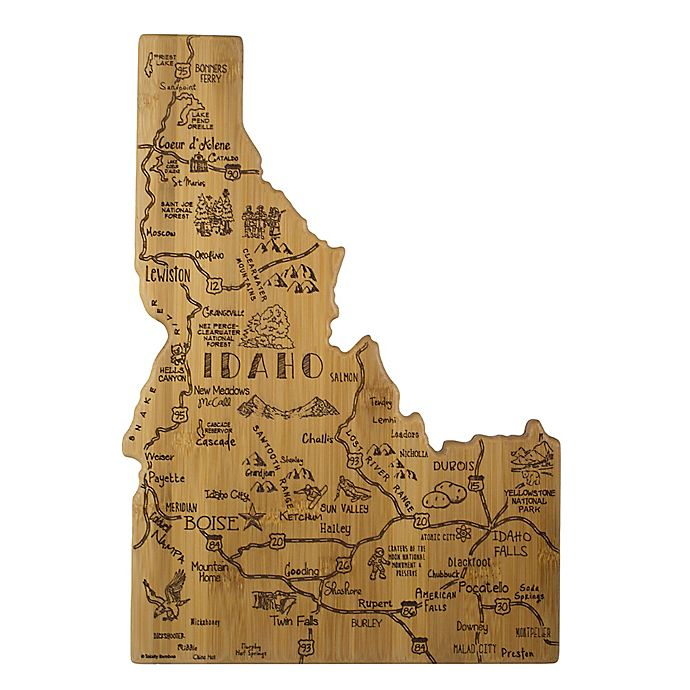 Alternate image 1 for Totally Bamboo® Idaho Destination Cutting Board