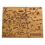 Totally Bamboo® Colorado Destination Cutting Board