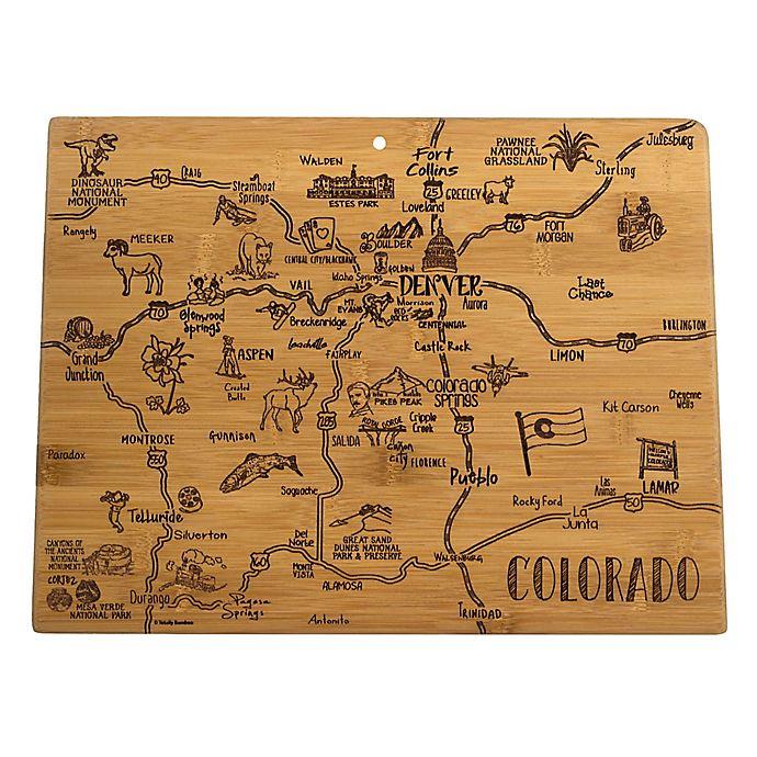 Alternate image 1 for Totally Bamboo® Colorado Destination Cutting Board
