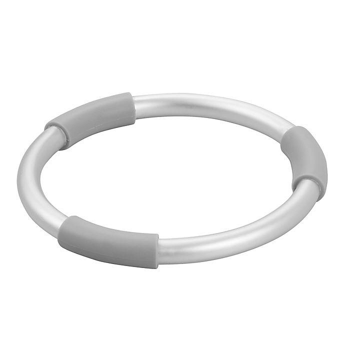 Alternate image 1 for iDesign® Metro Ultra Aluminum Trivet in Silver/Grey