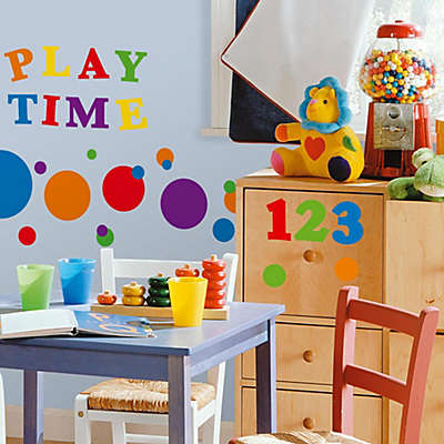 RoomMates® Peel and Stick Wall Decals - Primary Numbers
