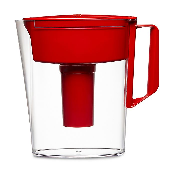Alternate image 1 for Brita® Soho 5-Cup Water Filtration Pitcher in Red