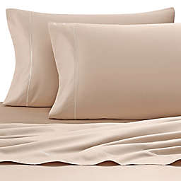Wamsutta® 500-Thread-Count PimaCott® Memory Foam Mattress California King Sheet Set in Taupe