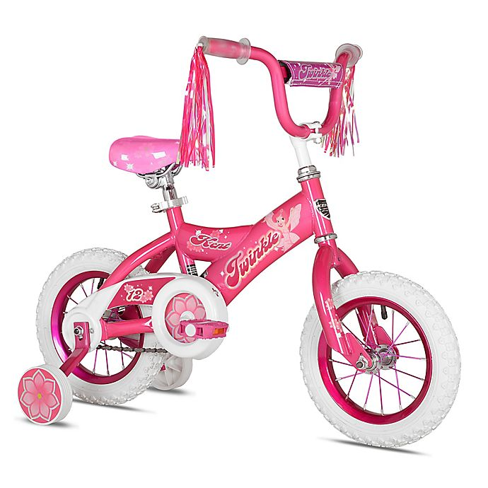 Alternate image 1 for Kent Twinkle 12-Inch Girl's Bicycle in Pink/White