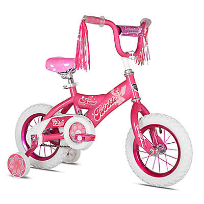 Kent Twinkle 12-Inch Girl's Bicycle in Pink/White