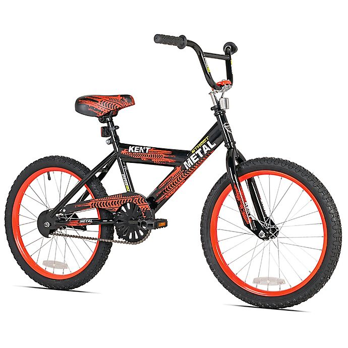 Alternate image 1 for Kent Street Metal 20-Inch Boy's Bicycle in Black/Red