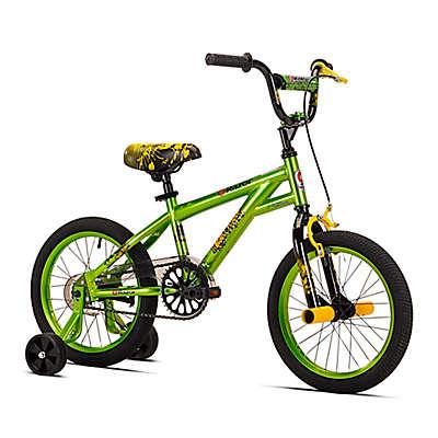 Razor Microforce 16-Inch Boy's Training Bicycle in Green/Black