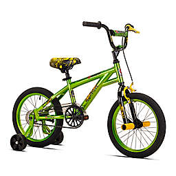 Razor Microforce 16-Inch Boy's Training Bicycle in Green/Black