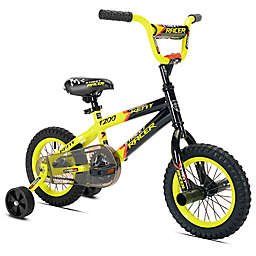 Kent Street Racer 12-Inch Boy's Bicycle in Black/Yellow