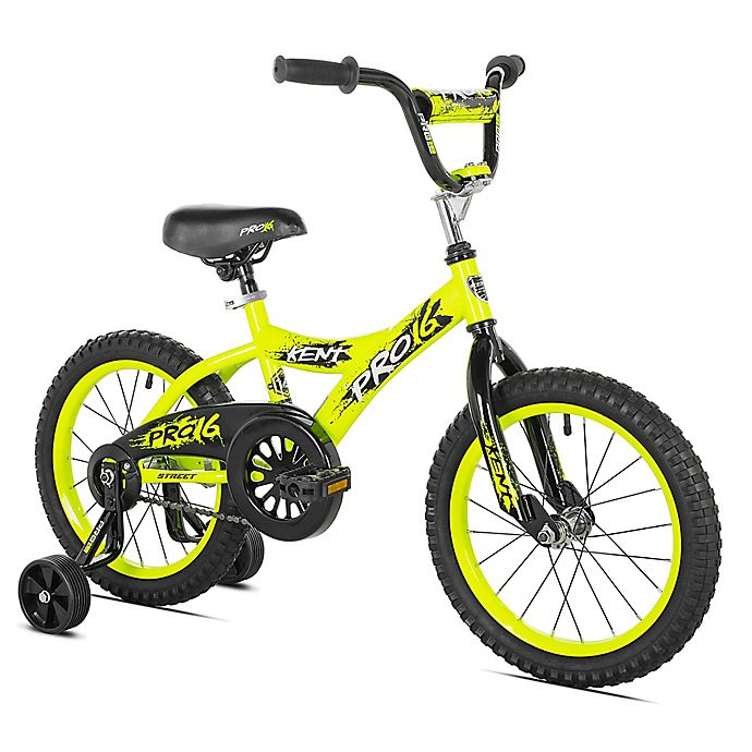 Alternate image 1 for Kent Pro 16 Boy's Bicycle in Yellow