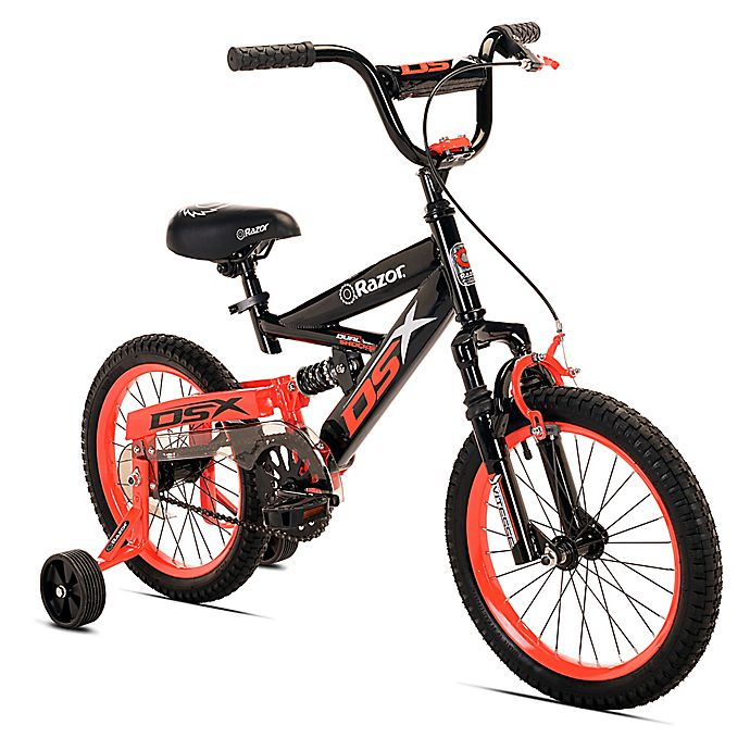 Alternate image 1 for Razor DSX 16-Inch Boy's Bicycle in Black