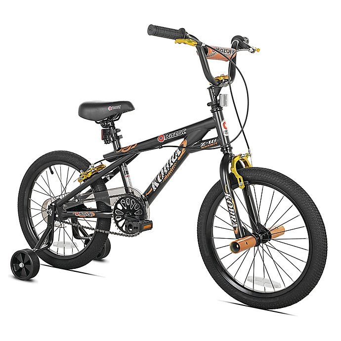 Alternate image 1 for Razor Kobra 18-Inch Boy's Bicycle in Black