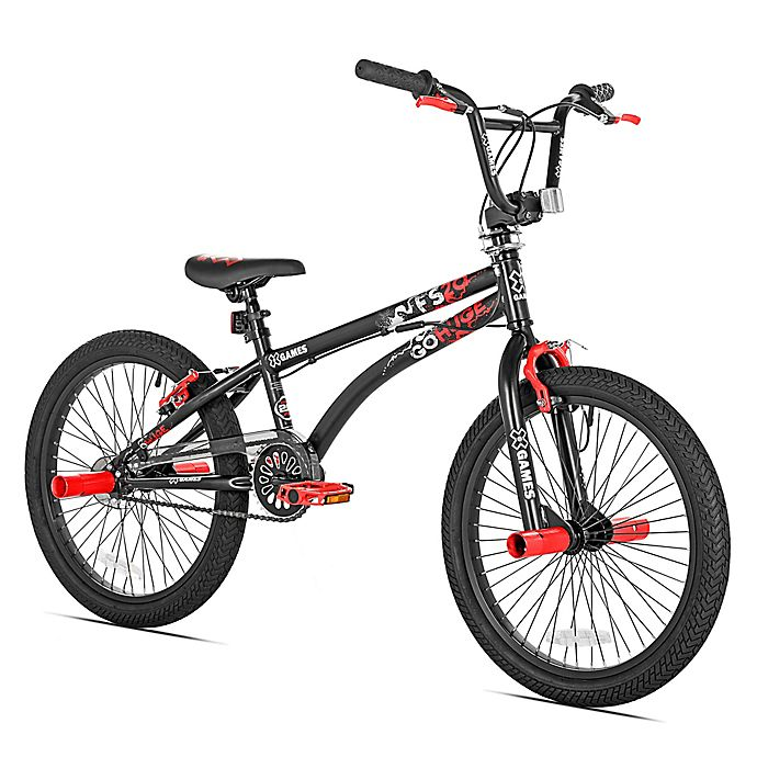 Alternate image 1 for X-Games 20-Inch Boy's Bicycle in Black