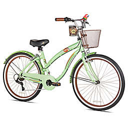 Margaritaville Coast is Clear 26-Inch Ladies' Cruiser Bicycle in Mint