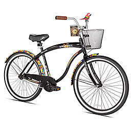 Margaritaville First Look 26-Inch Men's Cruiser Bicycle in Black